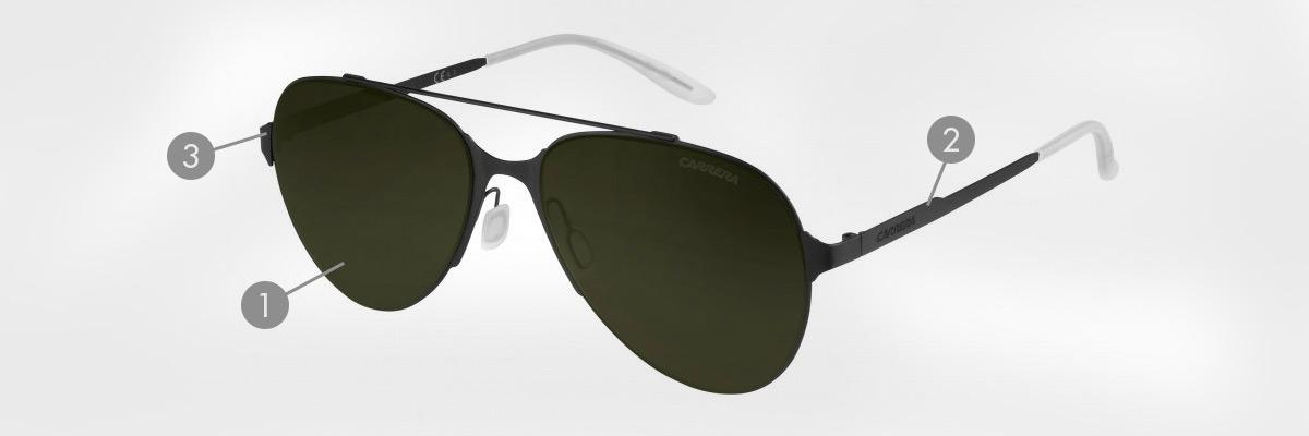 ebb14fa49 CARRERA, óculos de sol de moda com grandes descontos