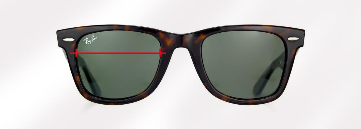 c77bdbd626ab5 O que é o calibre de um óculos  Conselhos para escolher o tamanho de ...